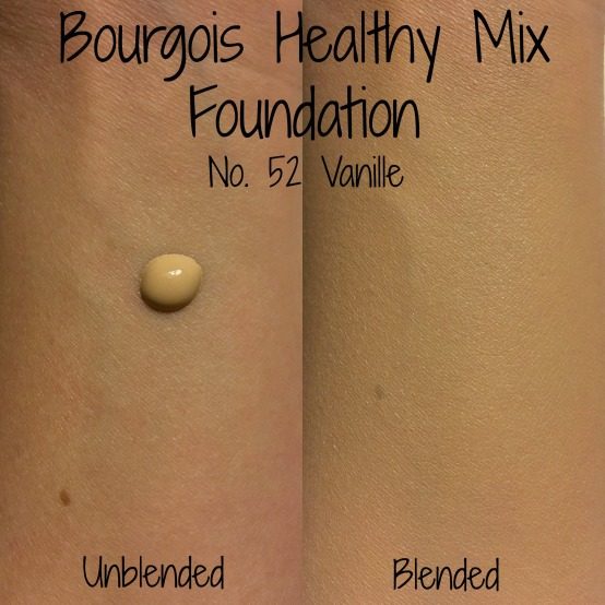 Bourgois Healthy mix swatches