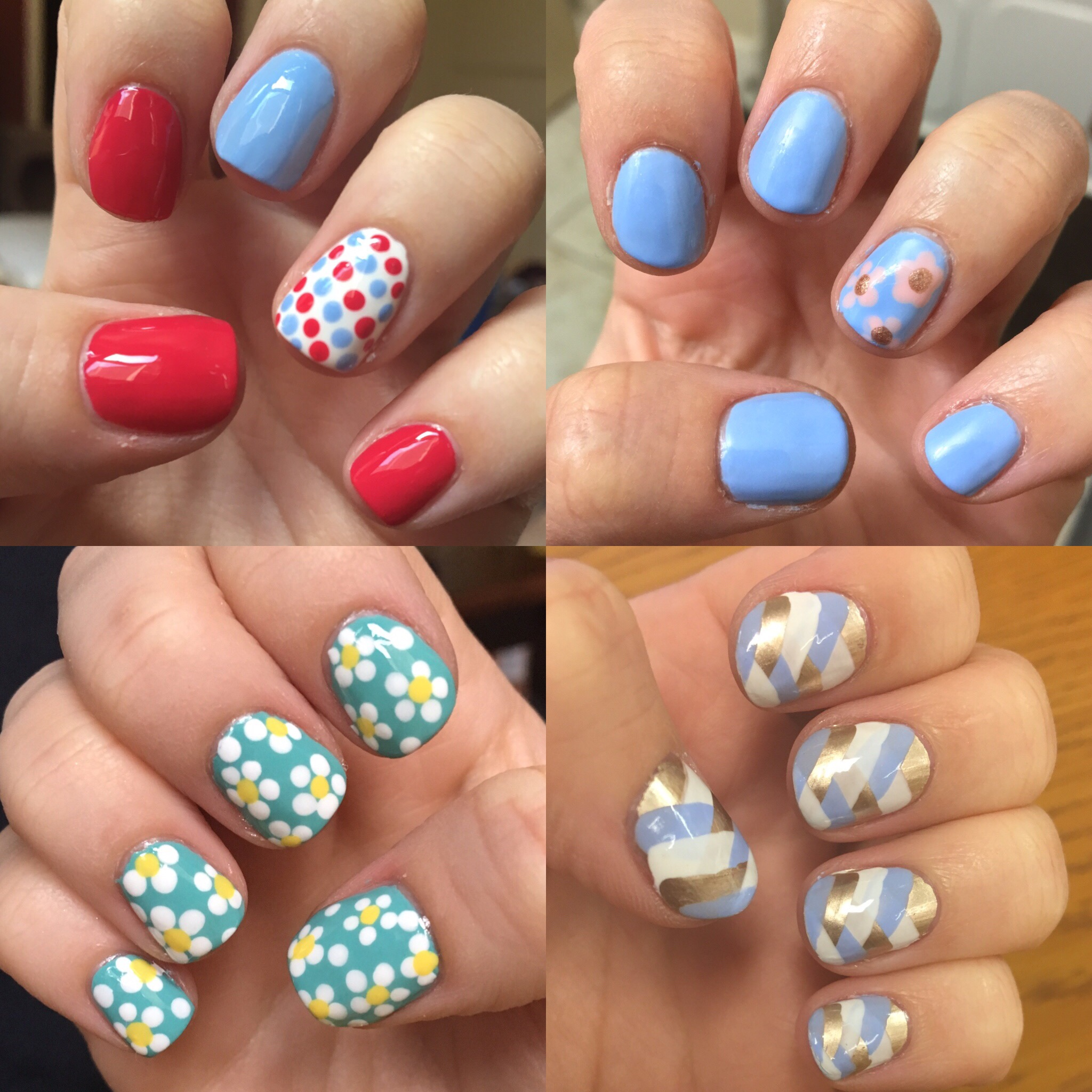 Easy nail art ideas – no tools needed! – moremakeupplease